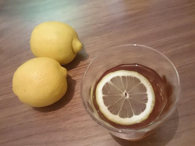 レモン麦茶