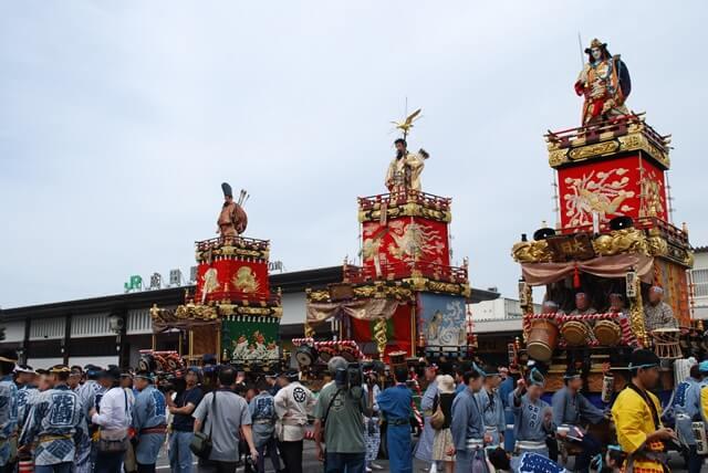 成田祇園祭とはどんなお祭り?2019年の日程はいつ?迫力ある山車・屋台が見どころ!