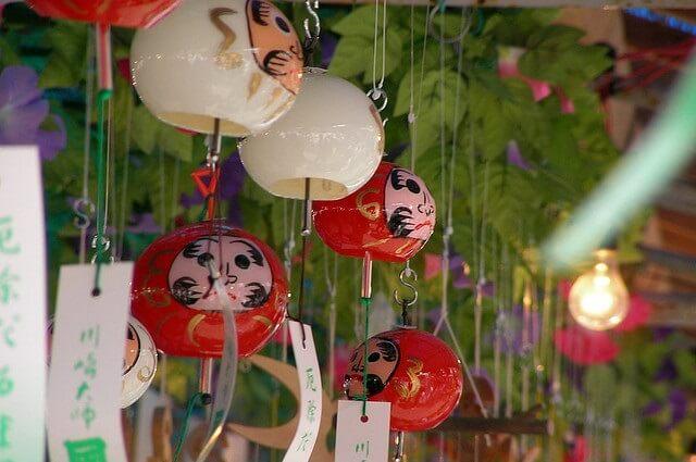 川崎大師風鈴市2019年の日程は?風鈴を買うときの選び方や価格はどれくらい?