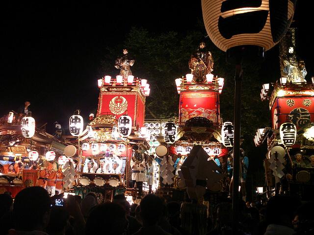 熊谷うちわ祭りの由来は?2015年の日程は?豪華絢爛な関東一の祇園祭をご紹介!