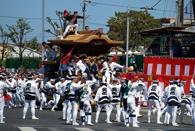 岸和田だんじり祭の由来とは?2019年の日程はいつ?大迫力の『やりまわし』が見どころ!