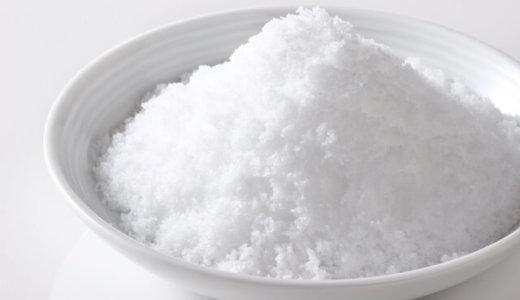 塩分の過剰摂取でどういう病気リスクがある?目標量はどれくらい?カリウムで改善できるってホント?