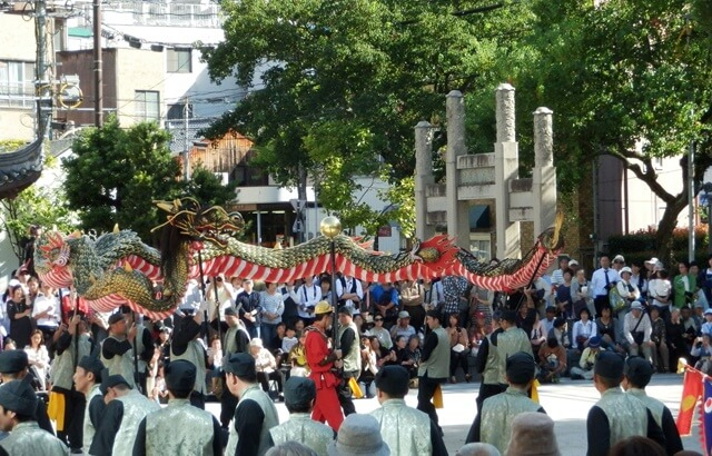 長崎くんちの由来とは?2019年の日程はいつ?『龍踊り』をはじめとする奉納踊が見どころ!