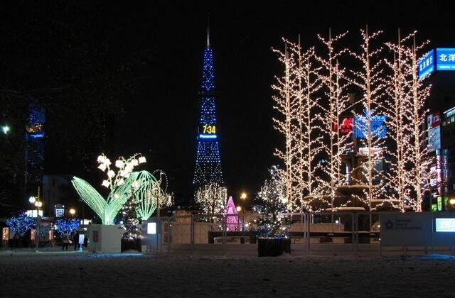 さっぽろホワイトイルミネーション2015年の開催期間・点灯時間は?各会場の見どころやイベントは?