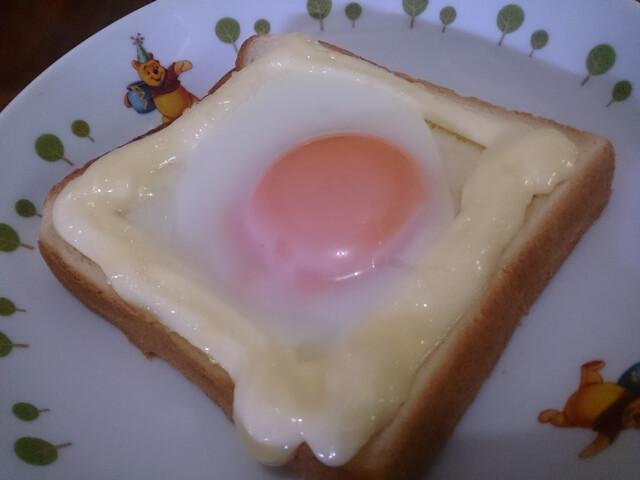 たまごマヨネーズトースト