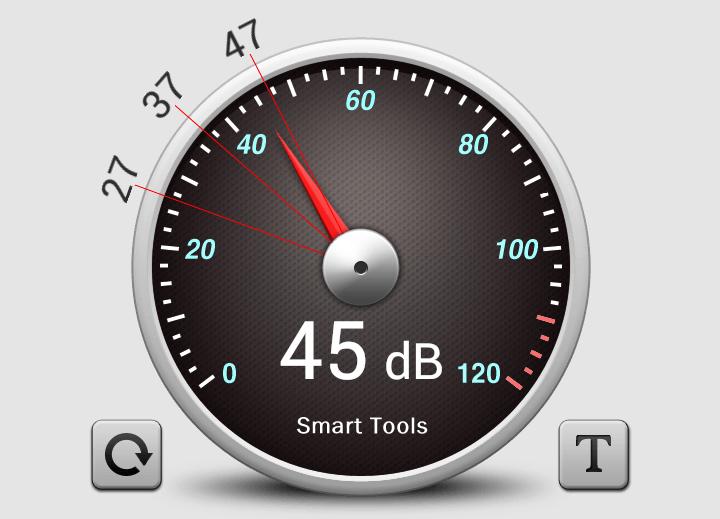 騒音計アプリ
